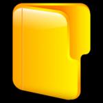 icona cartella aperta 2