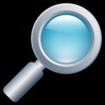 lente d'ingrandimento icona