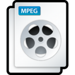 video mpeg icona