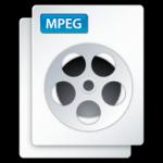 video mpeg icona