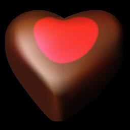 chocolate hearts 03 icon