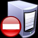 remove server icon