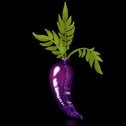 Latex Carrot icon