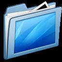 Blue Desktop icon