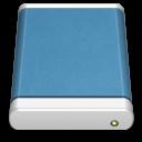 Blue External Drive icon