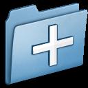 Blue New icon