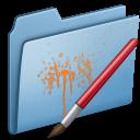 Blue Paint icon