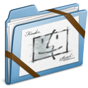 Blue Sketch icon