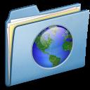 Blue Web alt icon
