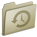 Lightbrown Backup icon