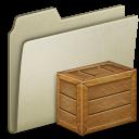Lightbrown Box icon
