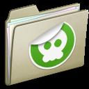 Lightbrown Sticker icon