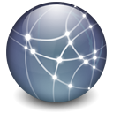 dot Mac Logo Graphite icon
