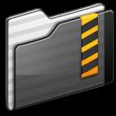 Security Folder black icon