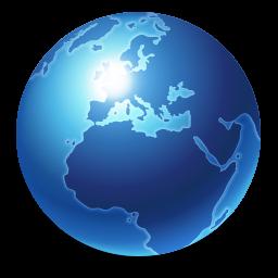 Internet Blue icon