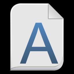 font x generic icon