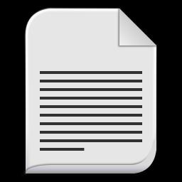 text x generic icon